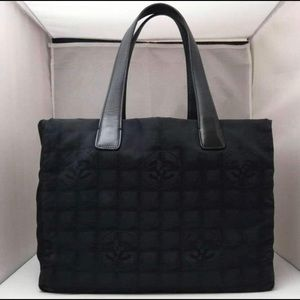 Authentic CHANEL Nylon Tote Bag